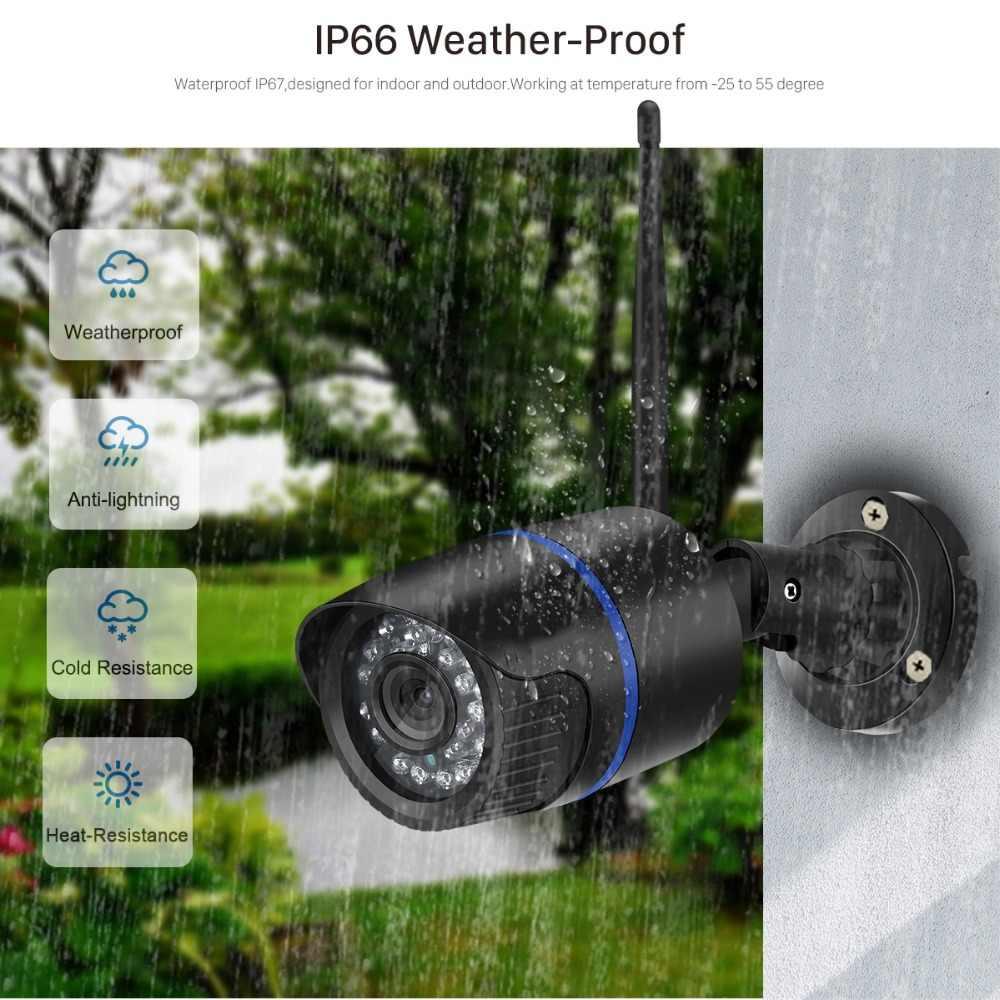 ANBIUX Yoosee IP Camera Wifi 1080P 960P 720P ONVIF Không Dây Có Dây P2P CAMERA QUAN SÁT Viên Đạn Camera Ngoài Trời miscroSD Khe Cắm Thẻ Tối Đa 64G