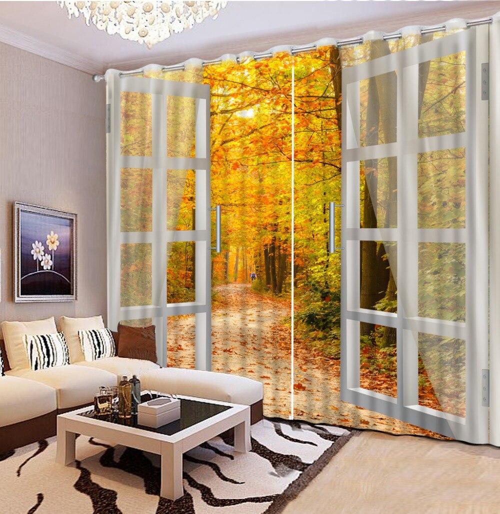 Vysoce kvalitní Přizpůsobit velikost modelu domácí záclony okno vlastní záclona ložnice zatemňovací závěsy moderní záclony do obývacího pokoje