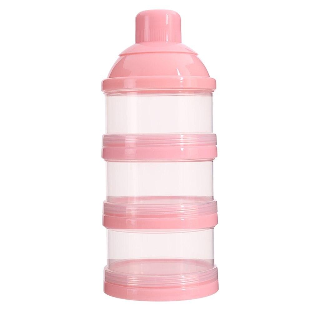 Fütterung Mutter & Kinder Nette Kürbis Baby Milch Pulver Box Lebensmittel Snack Box 3 Schichten Tragbare Infant Milch Pulver Container Formel Milch Lagerung Neue