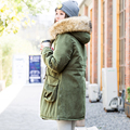 The 2016 winter jacket female raccoon fur collar hooded thick coats women winter coat