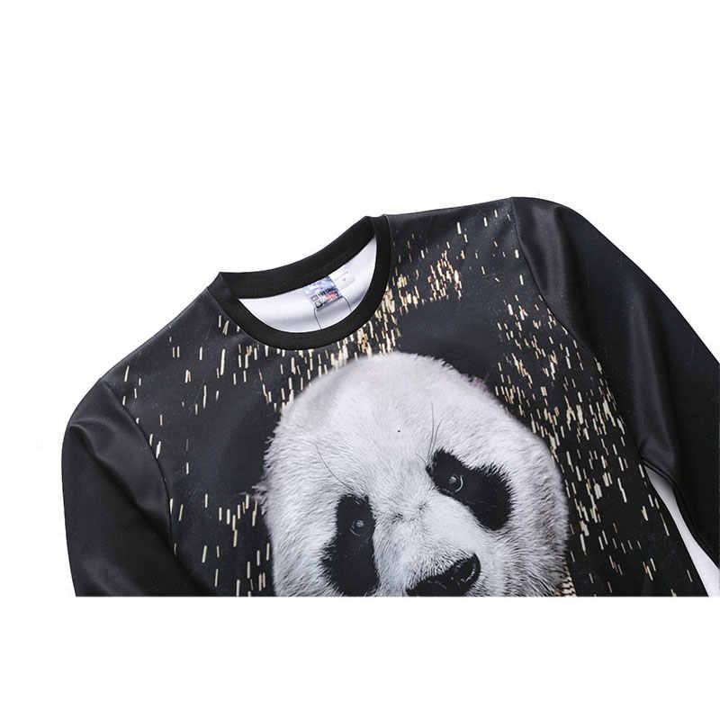 Mr.1991inc Новый 3D Толстовка для Для мужчин и Для женщин o Средства ухода за кожей Шеи хип-хоп Толстовки осень модные свитеры Homme cool животного с принтом панды