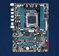 The new X79 motherboard 2011 needle with E5 2670 eight-core sixteen thread CPU suit super X58 X5650 W3680