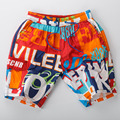 2016 new fashion shorts men's summer beach shorts 100% cotton board shorts Elastic waist big size for men 336