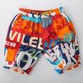 2016 nuevos cortocircuitos de la manera del verano de los hombres playa pantalones cortos 100% pantalones cortos de algodón Elástico de la cintura de gran tamaño para los hombres 336