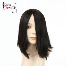 Jewish Wig Kosher Wigs European Hair Silk Top Wig Natural Straight Bob Human Hair Wigs For Women Remy Hair Ever Beauty(China)