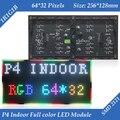 256*128 мм 64*32 пикселей 1/16 Сканирования Крытый SMD 3in1 RGB полноцветный P4 светодиодный экран модуль