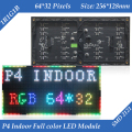 256*128mm 64*32 pixels de 1/16 de Digitalização Indoor SMD 3in1 RGB full color P4 levou tela módulo