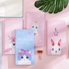 Cartoon Animals Cute Planner Copybook Diary Paper Note Book Notebook School Office Supplies Stationary creative stationery kraft paper notebook sketchbook plain cahier note pad copybook diary soft copybook for school n050