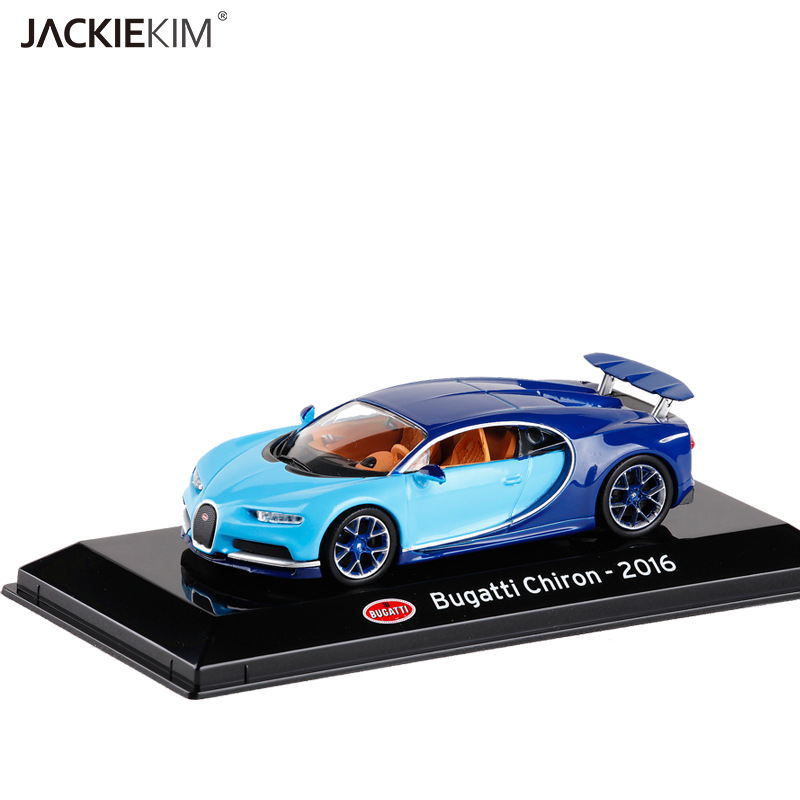 brand new leo 1/43 scale car model toys 2016 bugatti chiron