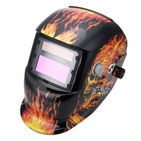 Solar Powered Auto Darkening Welding Helmet Protection For Grinding Lens Tig Welder Mask J