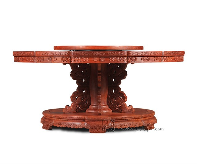 neoclassical 2 1m round table rosewood hotel dining table solid wood
