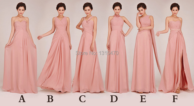5 Different Kinds of Maid Vestido Dress Bridesmaid Dresses 2016 For     5 Different Kinds of Maid Vestido Dress Bridesmaid Dresses 2016 For Wedding  Party Short and Long