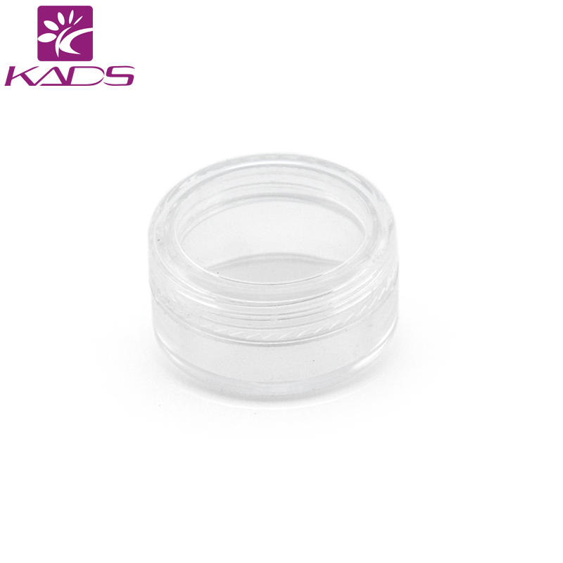 300PCS/LOT 5g cream bottle,clear empty plastic cream bottle,nail art glitter dust powder case,cream pot nail Decoration case. free shipping natural stone powder nail decoration nail art packed in a glass bottle 10ml pot it is made of natural stone