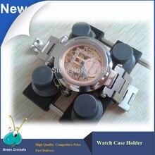 時計ツールムーブメントホルダー用腕時計ケース5700オープナー、調整可能な時計ムーブメントホルダーツール