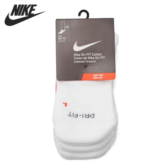 Original New Arrival 2017 Nike DRY CUSH NS 3PR Unisex Sports Socks ( three  pais)