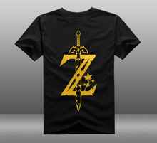 New The Legend of Zelda t-shirt  Men tshirt reflect light Men t-shirt  cotton Loose Short-sleeve Tees tops