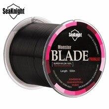 Seaknight Brand BLADE 500M Nylon Fishing Line Monofilament Mono Line Carp Fishing 2 4 8 10 12 16 20 30 35LB Saltwater/Freshwater