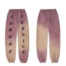 19FW SUNDAY SERVICE Calabasas Sweatpants Men 1:1 High Quality Kanye West Drawstring Joggers