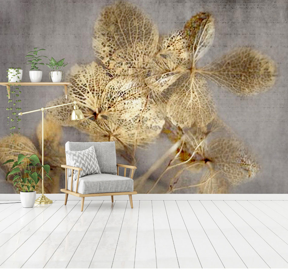 Gold Hollowed leaf 3d Murals Wallpaper 3d Wall Photo Mural for Living Room Sofa Background 3d Wall Mural Wall paper Papel Mural 3d wall mural european wallpaper living room watercolor cartoon elk deer wall paper pastoral 3d wall murals non woven wallpapers