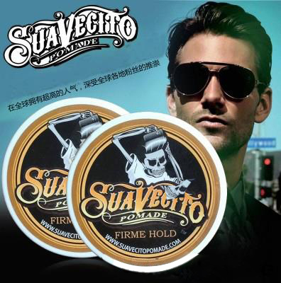 Suavecito Pomade Unisex Temporary DIY Hair Mattifying Powder/Finalize Wax Hair Mud Water Gel Hair Modelling <font><b>Styling</b></font> Products