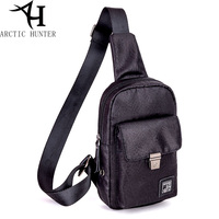 ARCTIC HUNTER Brand Waterproof Men Shoulder Bag Small Cell Phone Flap Pack Mens Chest Bags Men