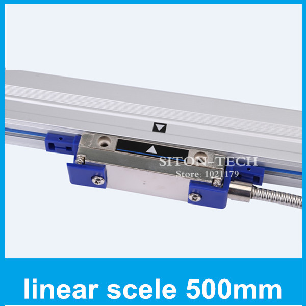 Free shipping lathe encoder products Rational WTB1 0.001mm 500mm linear digital scale for milling machine CNC drilling machine