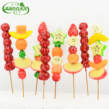 Candied fruit food model show props pvc material Tomatoes on sticks