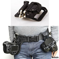 "Camera Quick Strap With Neck Strap 1/4"" Screw Mount Waist Spider Holster Shoot Belt Buckle Button Fast Exempt postage"