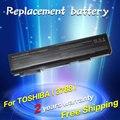 Jigu nueva 6 celdas de batería portátil tecra a11 m11 s11 pa3788u-1brs pabas223 para toshiab serie pabas223 satellite pro s500 s750