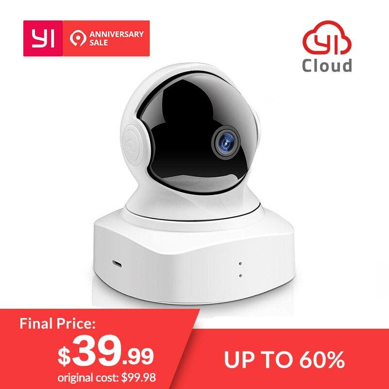 Новое поступление 2018 YI облачная купольная камера 1080 P Беспроводная ip-камера безопасности Детский монитор ночного видения международная вер...