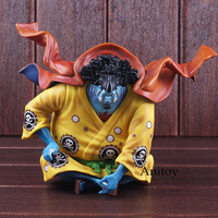 Action Figure One Piece Anime Jinbe Figure Sitting Ver. PVC One Piece Toys Collectible Model Toy