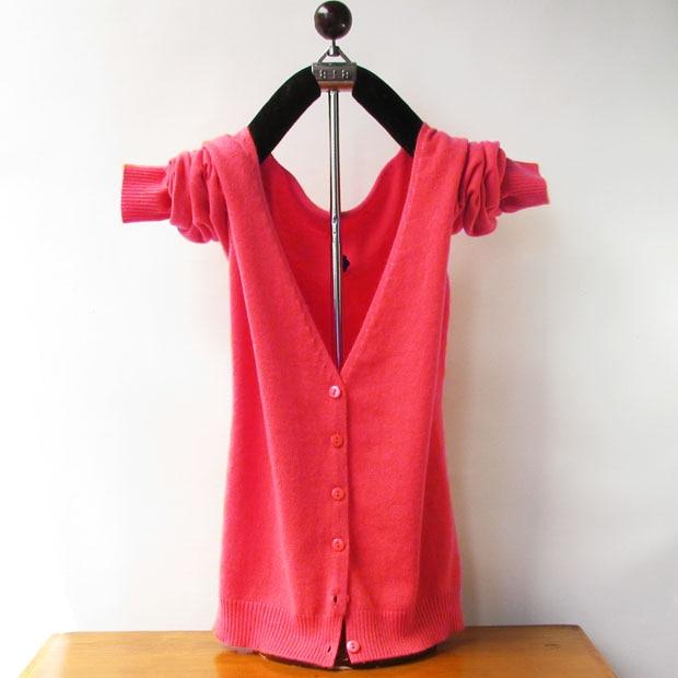 2017 Nuevo llegado Caliente gilrs Dulces colores Suéteres de Cachemira  suéter de punto para mujeres de las Señoras V cuello cardigans De Lana A  Estrenar bdee0dc1a9cb
