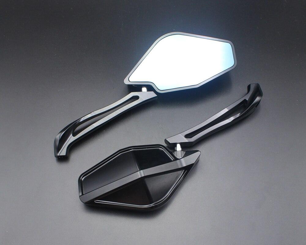 Motorcycle rearview mirror CNC aluminum case for DUCATI Multistrada 1200S / Multistrada 1200 enduro billet aluminum water pump cover for ducati monster 821 1200 2017 2017 diavel multistrada 1200 1200s