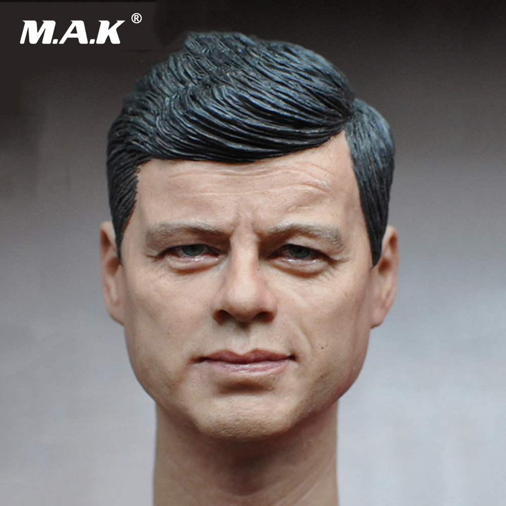 1/6 Scale American President John Fitzgerald Kennedy Head Sculpt for 12 Inches Mens Bodies Dolls Figures Toys Gifts Collections 1 6 scale takeshi kaneshiro mens head sculpt for 12 inches male action figures bodies