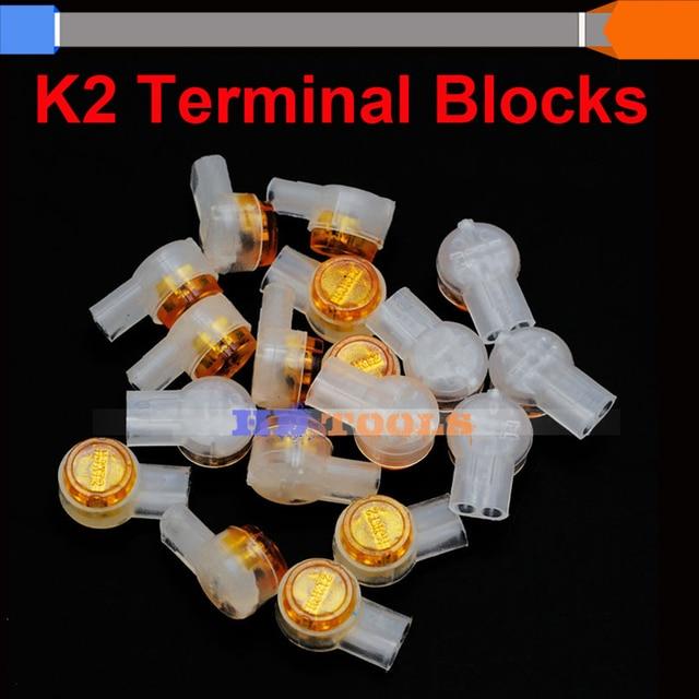 K2 cable terminal block/pluggable terminal block 100pcs High Quality