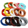 Hot- 6M Dia 2mm 100% Genuine Round Leather Cord Jewelry Cords DIY Accessories for Bracelet Jewelry Findings Material Supplies