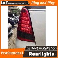 A & T автомобиля светодиодный хвост лампа для Toyota инновационной задние фонари 2012 США Версия задний багажник крышка лампы drl + сигнала + Тормозн