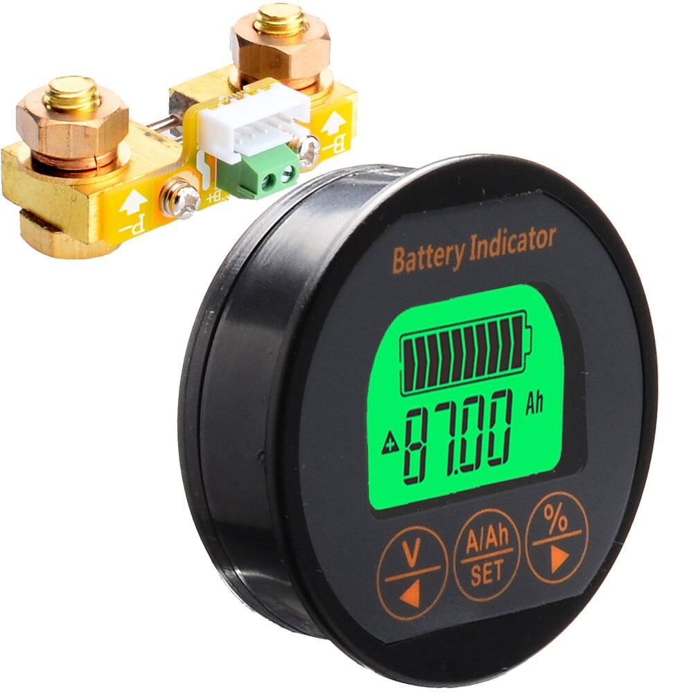 Probador de la capacidad de la batería Coulometer DC8-80V 100A TR16 probador de la batería de Pb Li-Ion LiFePo NiMH Nicd Pe tipo de baterías 12006016