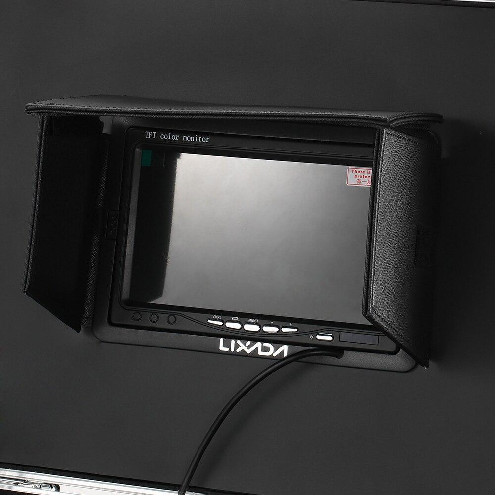Lixada 30 M égout Endoscope tuyau de vidange Inspection vidéo caméra Pipeline Endoscope industriel Vision nocturne caméra avec 12 LED - 2
