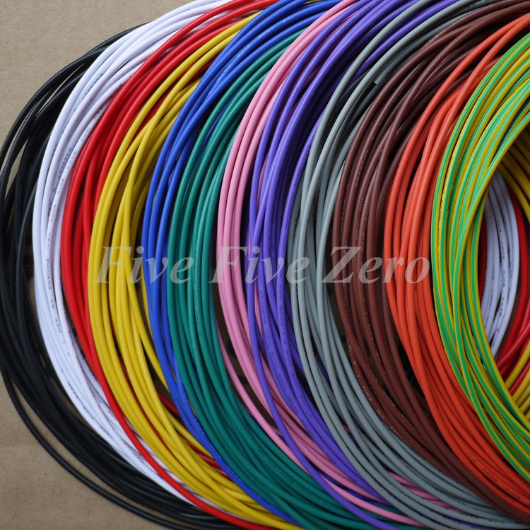 20AWG PVC Insulated Tinned Copper Wire Electronic Wires eco PVC ...