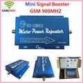 Hot vender Mini GSM 2G 900 MHz Celular Amplificador de Sinal de Telefone Celular Impulsionador Repetidor, GSM 900 mhz Repetidor Amplificador Atacado