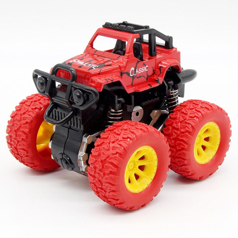 Toy Cars For Kid Inertia Shockproof Four-wheel Drive SUV Baby Child Boy Simulation Vehicle Model Car Anti Crash Toy Hot Wheels