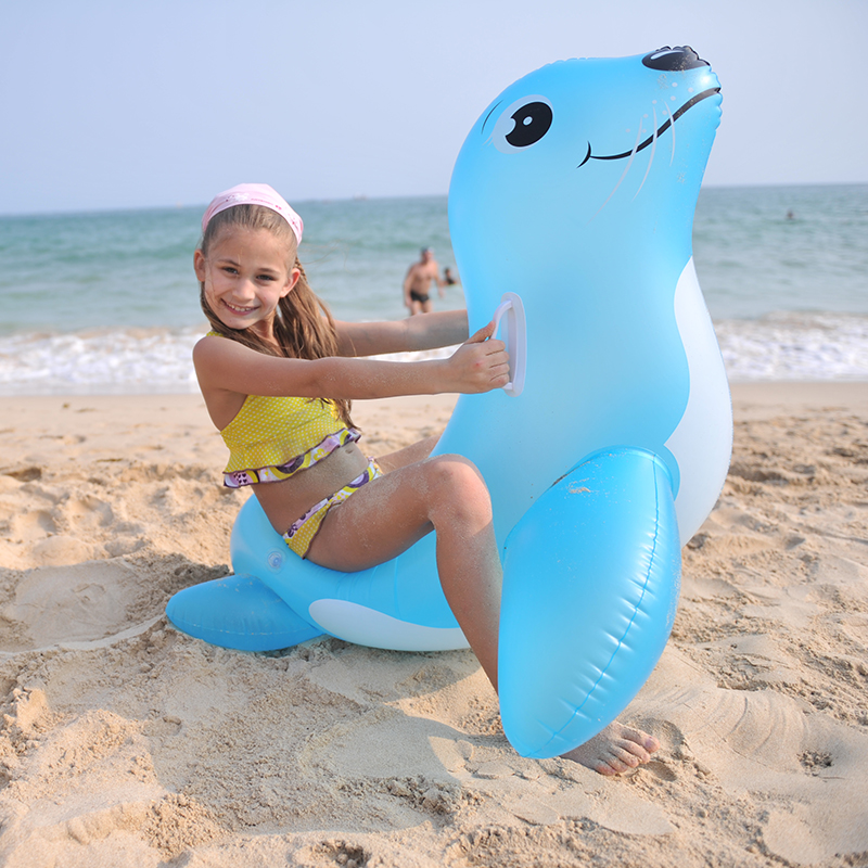 Inflatable Childrens Animal Swim Ring Swimming Pool Beach Summer