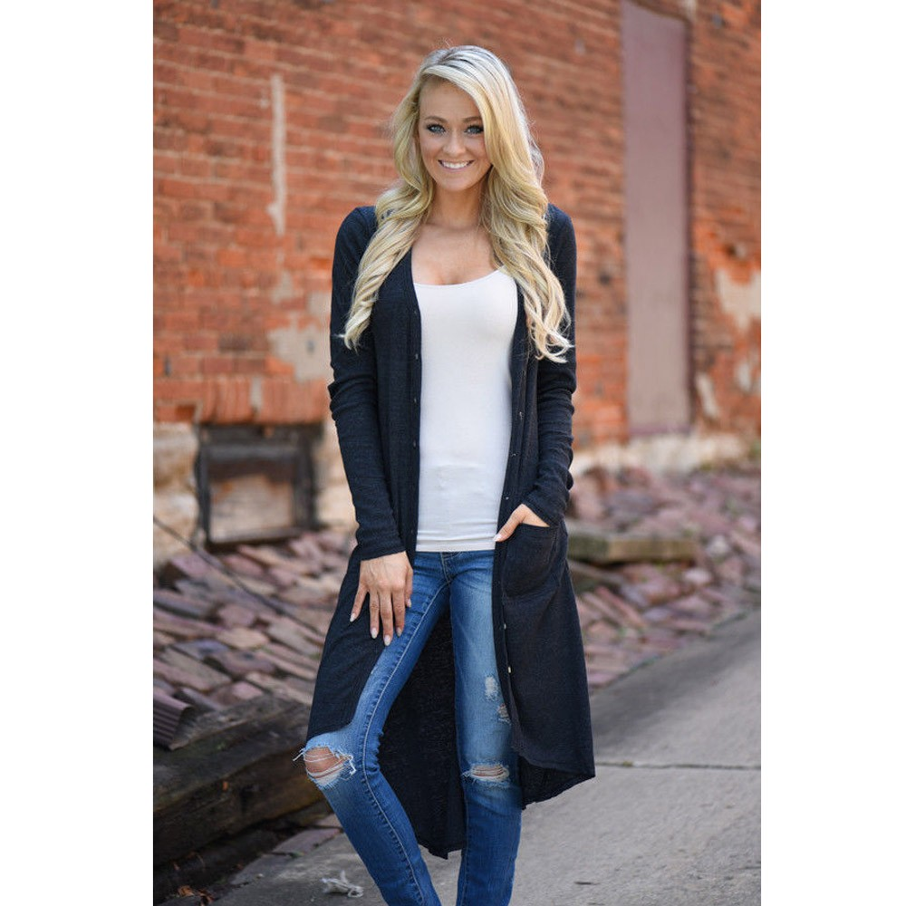 Women's Clothing Loyal Women Loose Sweater Long Sleeve Knitted Cardigan Outwear Jacket Coat Camiseta Mujer Beach Cape Cape For Swimsuit Blusas Feminina Choice Materials