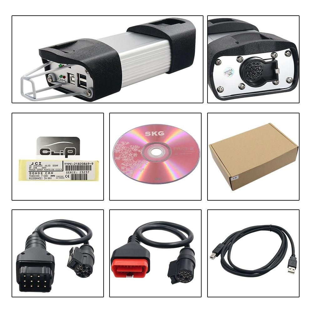 Beste AN2135SC/AN2131QC Volle Chip Für Können Clip V178 + Reprog V172 Auto Diagnose Werkzeug Gold PCB Für Können clip Autos 1998-2017