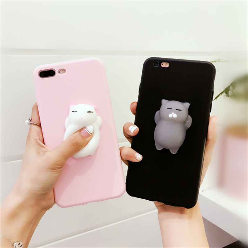 Luckywang for iphone 7 case Cartoon For Iphone 6 S Case Mobile Phone Bags