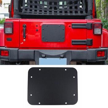 Jeep JK шины | Запчасти багажника инструмент для Jeep Wrangler JK JKU запасные шины удалить наполнитель Plat сталь черный Высокое качество Горячая