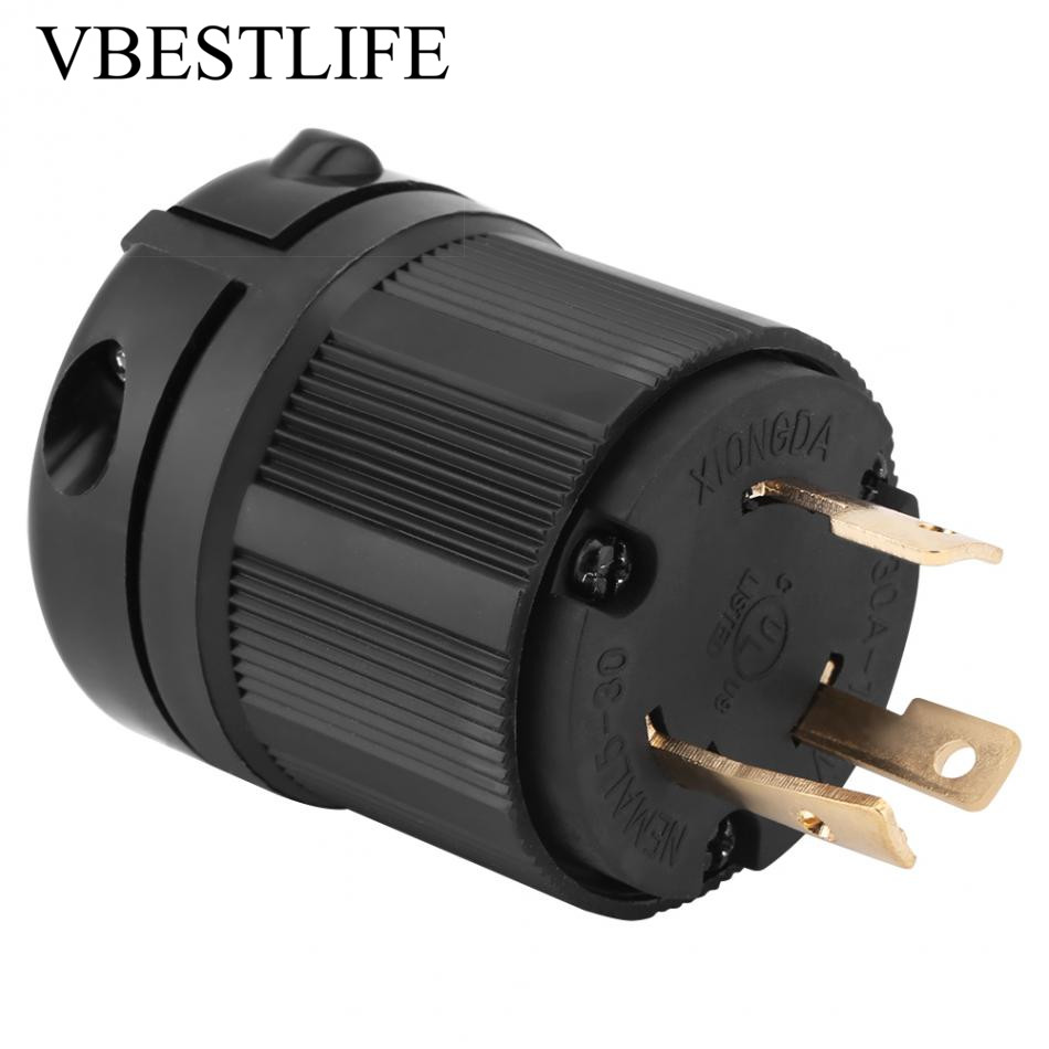 medium resolution of twist lock electrical plug adapter socket nema generator plug converter l5 30 30a 125v 3 wire electrical charger plug in ac dc adapters from home