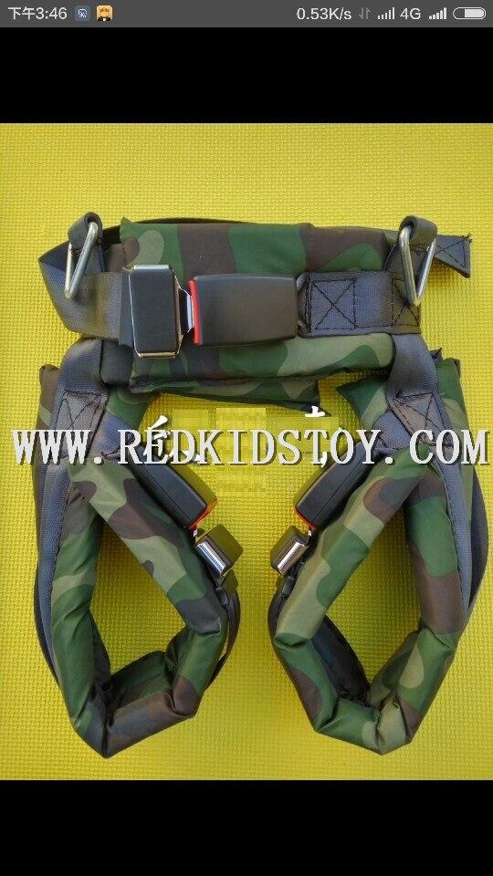 Sécurité Des Adultes Bungee Harnais Accessoires De Trampoline HZ-7707f