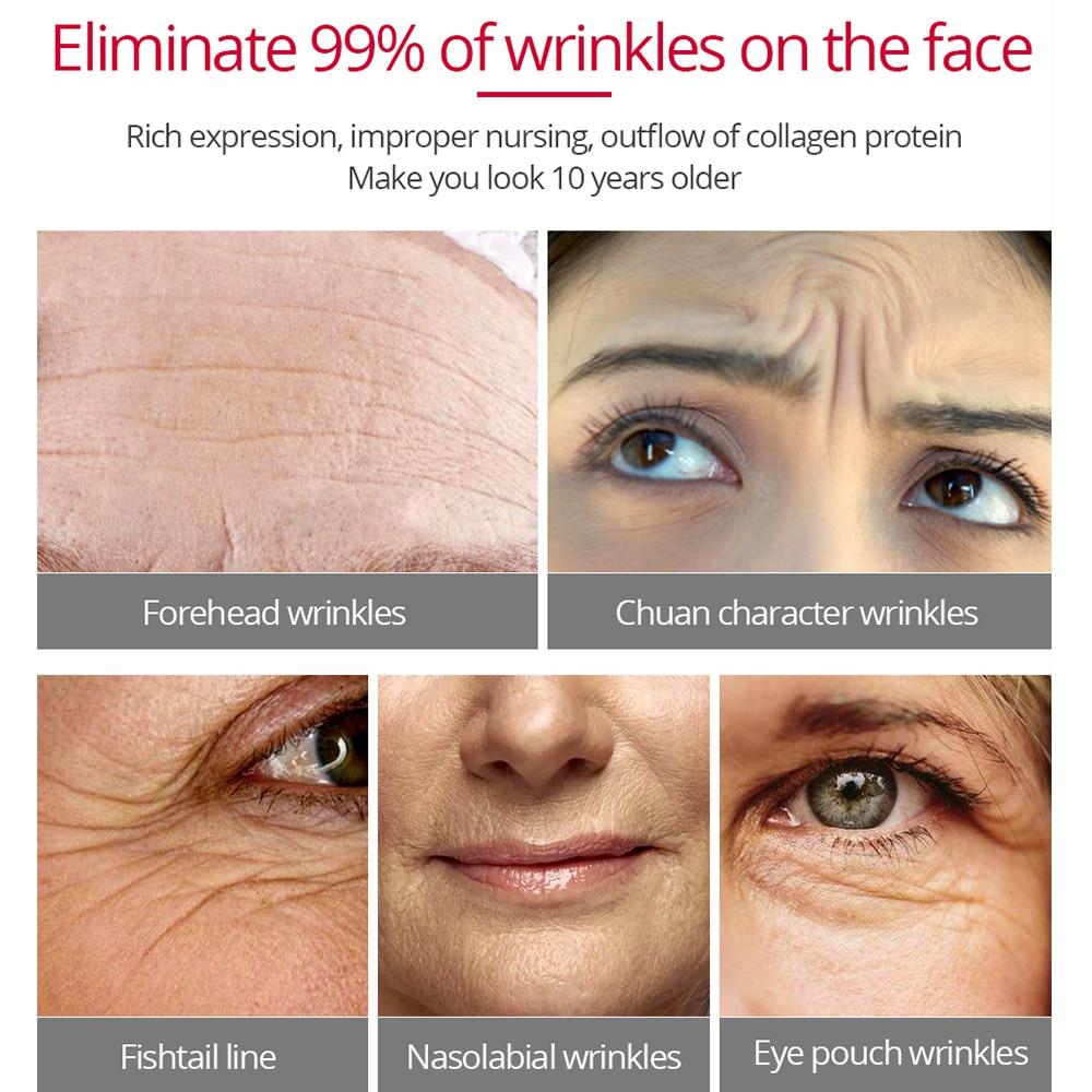 VIBRANT GLAMOUR Argireline Face Cream Anti Aging wrinkle Whitening Moisturizing Collagen Firming skin for women skin care 30g 5